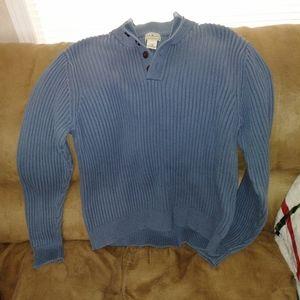 L.L. Bean men's pullover sweater.
